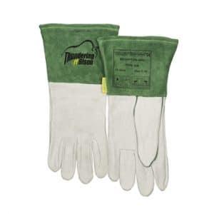 Weldas lashandschoen ThunderingBison palm glad bisonleer, kap split rundleer   CHROMIUM < 2 mg./kg   Weldas nr.: 10-2644