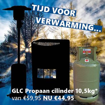 ACTIE Propaan cilinder – Gasfles 10.5kg