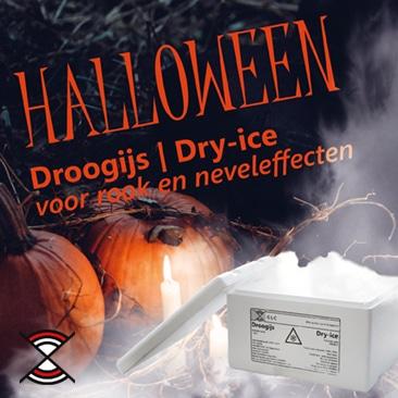 Goedkoop Droogijs kopen Halloween | Rook en nevel effecten | Dry-ice Webshop | Inclusief Styrofoam doos | Gas Las Centrum