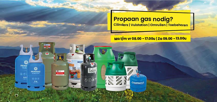 Kamperen en propaan gas nodig? | Ben je op zoek naar campinggas, BBQgas, terrasheatergas of campergas? Of een Vulstation? GAS Las Centrum in Eindhoven! Koop hier je Gasfles propaan.
