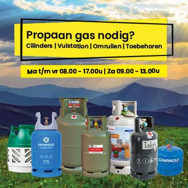 Kamperen en propaan gas nodig?   Ben je op zoek naar campinggas, BBQgas, terrasheatergas of campergas? Of een Vulstation? GAS Las Centrum in Eindhoven! Koop hier je Gasfles propaan.