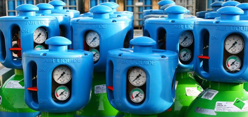Gassen - Gasdepot - Propaan - Technische Gassen - Heftruckgas - Gas Las Centrum - Air Liquide