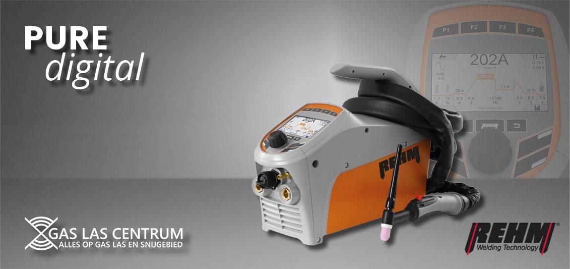 ehm Tigerdigital| De maatstaf voor modern TIG-lassen - Perfect hechten en lassen - Licht in gewicht - Compact en flexibel - optimaal bedieningscomfort - Strakke boog - Geschikt voor aluminium lassen | Hoog gebruiksgemak